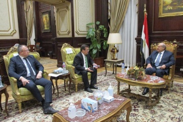 Ukrainian ambassador, Egyptian MPs discuss political cooperation between countries