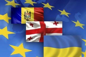 Ukraine, Georgia, Moldova express joint vision for Eastern Partnership development