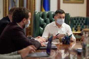 Zełenski - top menadżerom stacji telewizyjnych: Nic nie zagraża wolności słowa i biznesowi medialnemu