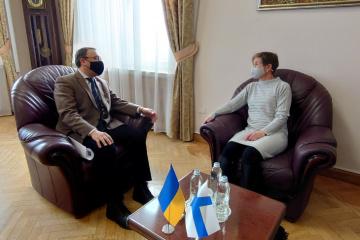 Ukraine, Finland discuss cooperation in countering hybrid threats