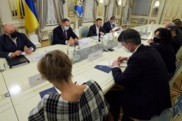 Zelensky meets with G7 and EU Ambassadors to Ukraine