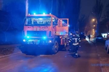 Zaporizhia hospital fire kills four