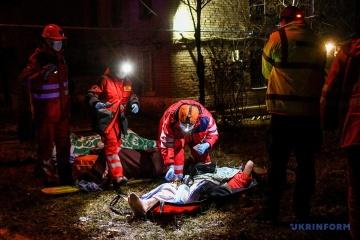 Saporischschja: Medizinisches Gerät konnte Brand in Infektionskrankenhaus verursachen
