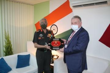Tarán: Ucrania y la India intensifican la cooperación técnica y de defensa