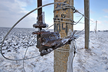 Adverse weather leaves 273 towns and villages in 12 Ukrainian regions without electricity