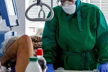 Corona: In Transkarpatien Negativ-Rekord der Neuinfektionen an einem Tag