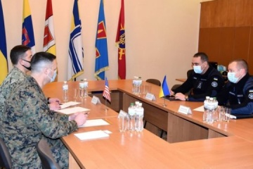 Navy Commander Neizhpapa discusses further cooperation with U.S. Embassy delegation