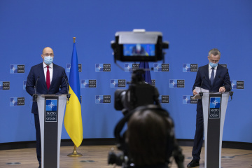 Shmyhal, Stoltenberg discuss Ukraine-NATO exercises