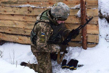 Enemy sniper wounds Ukrainian soldier near Pisky