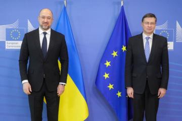 Premier: Ukraine wird weiter Marktbeziehungen entwickeln, um Einfluss von Monopolen zu verringern