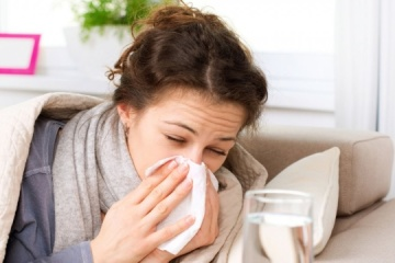 About 10,000 cases of ARVI and flu recorded in Kyiv over last week