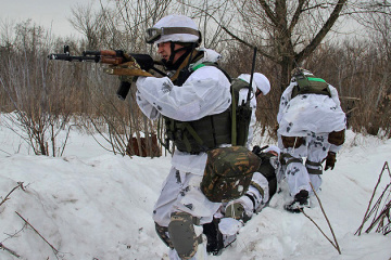Invaders violate ceasefire in Donbas seven times, one Ukrainian soldier wounded