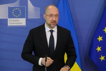 Shmygal espera que el Acuerdo de Asociación UE-Ucrania se revise este año