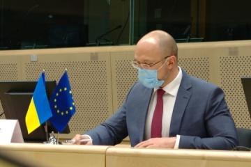 Shmygal: Agenda Ucrania-UE se está volviendo más ambiciosa y completa