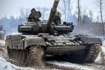 Se producen siete ataques enemigos, un soldado ucraniano resulta herido