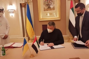 Ukraine, UAE agree on joint fight against illegal migration