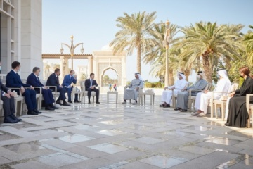 Zelensky: Delegación ucraniana regresa de los Emiratos Árabes Unidos con acuerdos concretos