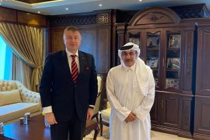 Ukraine, Qatar discuss transport and investment cooperation