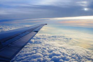 Avión con turistas ucranianos de Zanzíbar aterriza en el aeropuerto de Boryspil