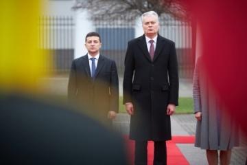 Zelensky felicita a Lituania por el Día de la Independencia