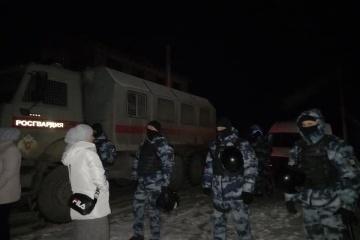 露占領政権治安機関、深夜にクリミア・タタール民家に家宅捜索