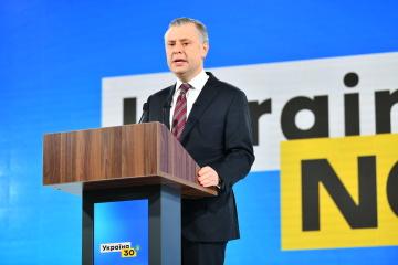 Vitrenko destaca las prioridades de Naftogaz