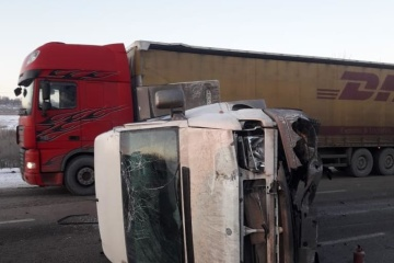 10 Verletzte bei Busunfall in Oblast Charkiw