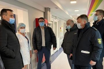 Anstieg der Corona-Fälle: In Region Iwano-Frankiwsk wird temporäres Krankenhaus eingerichtet