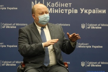Nemchynov: El Gobierno no está considerando ahora la introducción de un cierre nacional