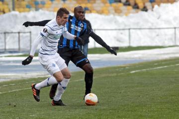 Le Club Brugge a obtenu le nul face à Dynamo-Kyiv en Ligue d'Europe