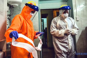 Ukraine meldet 4.182 neue Coronavirus-Fälle innerhalb eines Tages