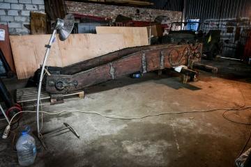 コサック時代の砲車、予算不足で修繕の目処立たず