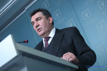 Данілов розповів, про що буде наступне засідання РНБО