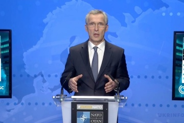 NATO secretary general reaffirms support for Ukraine amid military threats from Russia