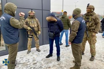 In Charkiw Spion festgenommen, der Info für Russland über neuesten ukrainischen Panzer sammelte