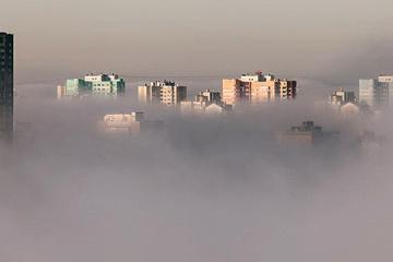 Luftverschmutzung: Ukrainische Hauptstadt Kyjiw rangiert auf Platz 6