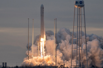 Ukrainian-American rocket Antares launches cargo load to ISS