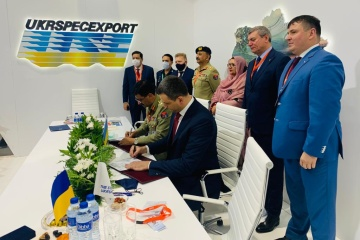 IDEX 2021: Ukraine signs contract with Pakistan for $85.6M