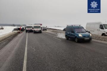 Region Kyjiw: Tote und Verletzte nach Unfall mit fünf Autos