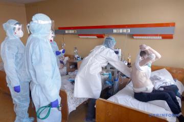 Corona: Ukraine meldet 726 Neuinfektionen
