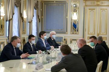 Zelensky se reúne con el ministro de Exteriores de Lituania