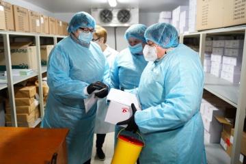 Ukraine meldet 18.881 neue Coronavirus--Fälle