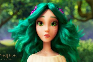 """Lanzado un nuevo tráiler del dibujo animado """"Mavka. El Canto del Bosque"""""""