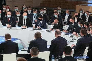 Präsident Selenskyj will Kongress von lokalen und regionalen Behörden gründen
