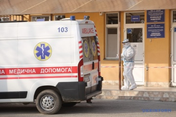 3月16日時点 ウクライナ国内新型コロナ新規確認数9642件