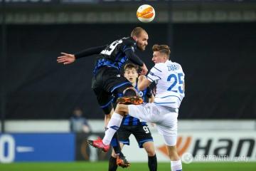 El Dynamo derrota al Club Brujas y avanza a los octavos de la UEFA Europa League