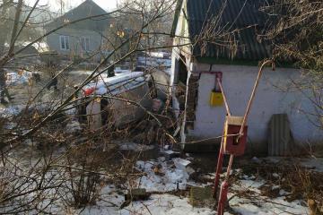 На Дніпропетровщині авто в'їхало в будівлю: серед постраждалих двоє дітей