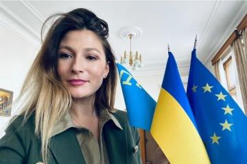 Emine Dzhaparova presenta la Plataforma de Crimea en la OSCE