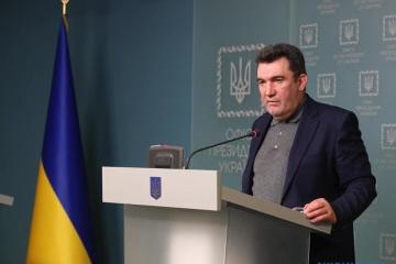 Брифінг Данілова за результатами засідання РНБО