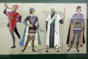 У Харкові показали ескізи костюмів до вистав театру опери та балету за пів століття